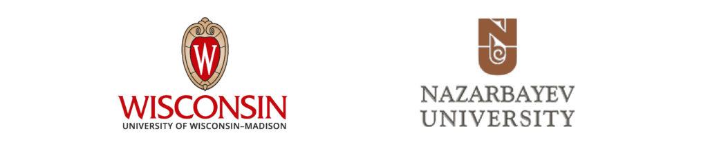 UW–Madison and Nazarbayev University logos